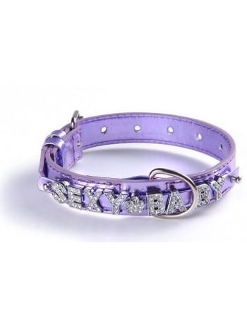 Pasja ovratnica - Luxury light violet