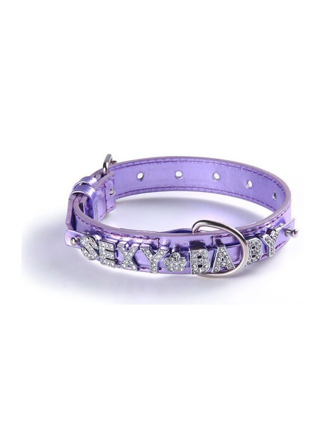 Pasja ovratnica - Luxury light violet