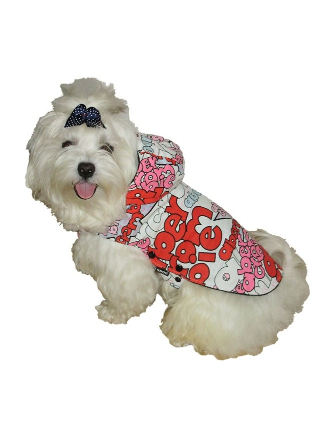 Dog winter coat - Brina red