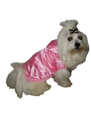 Dog winter jacket - Pink beauty