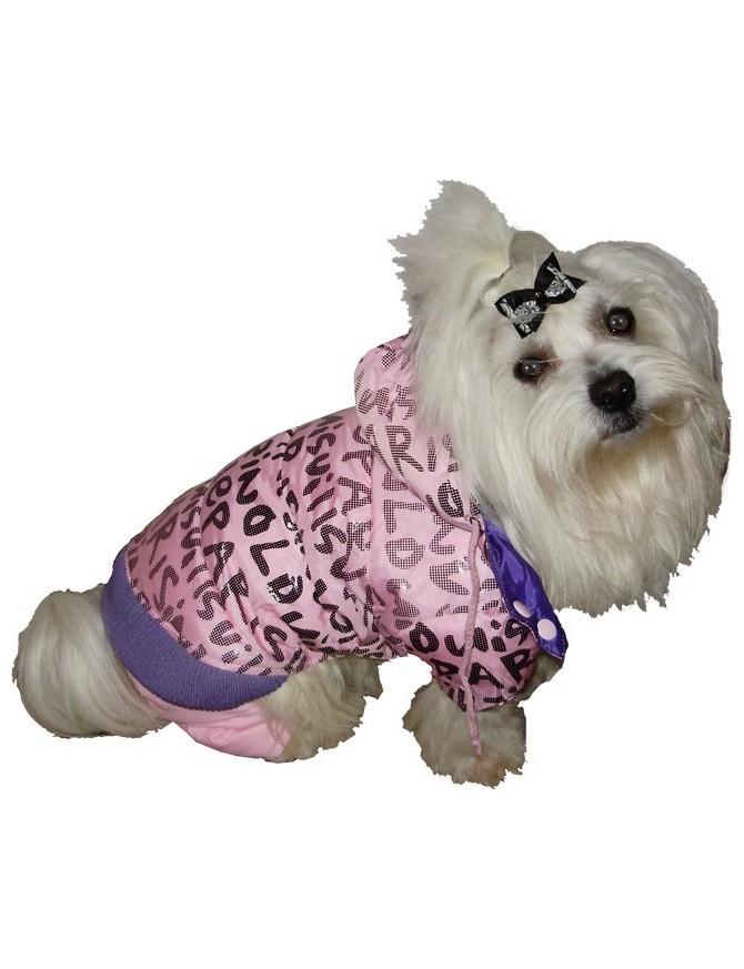 Pasji pajacek - Pink love paris
