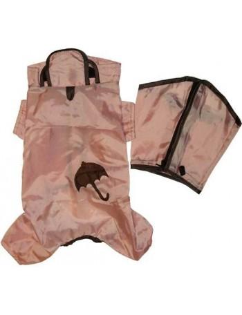 Rain coat on 4 legs - Pink