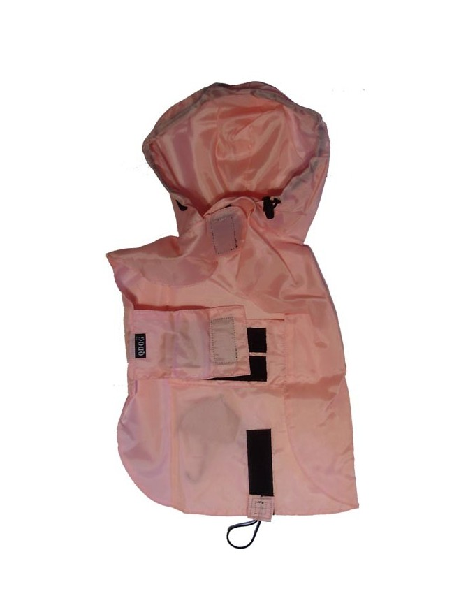 Pasji dežni plašček - Pink
