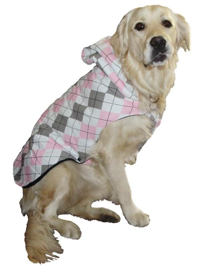 Pasji zimski plašček - Chuku