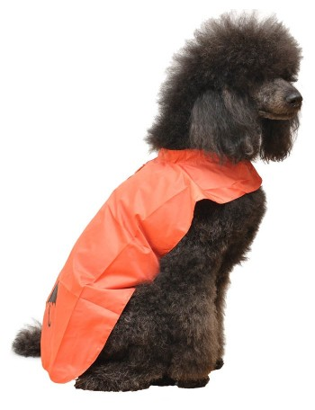 Dog rain coat - Red