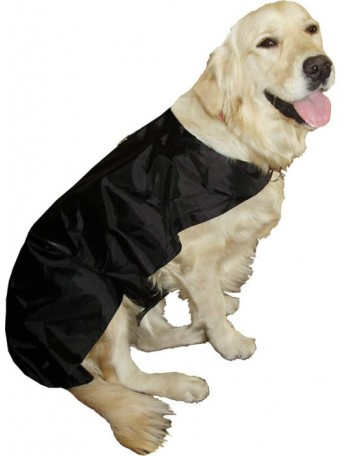 Pasji dežni plašček - Black