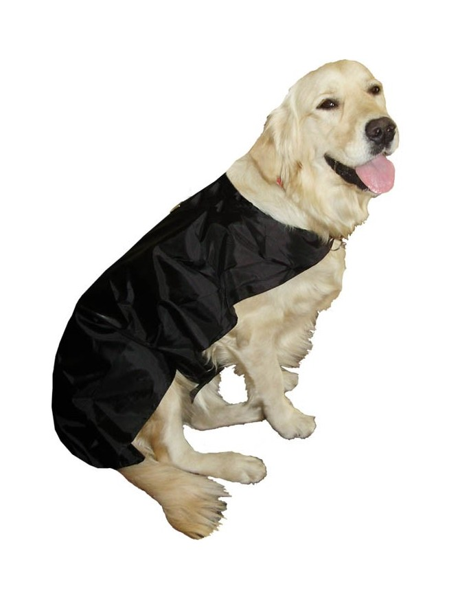 Dog rain coat - Black