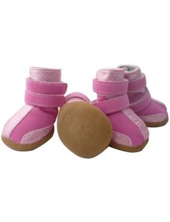 Pasji čevlji - Pink magic