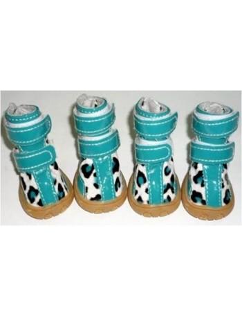 Pasji čevlji - Turquise gepard