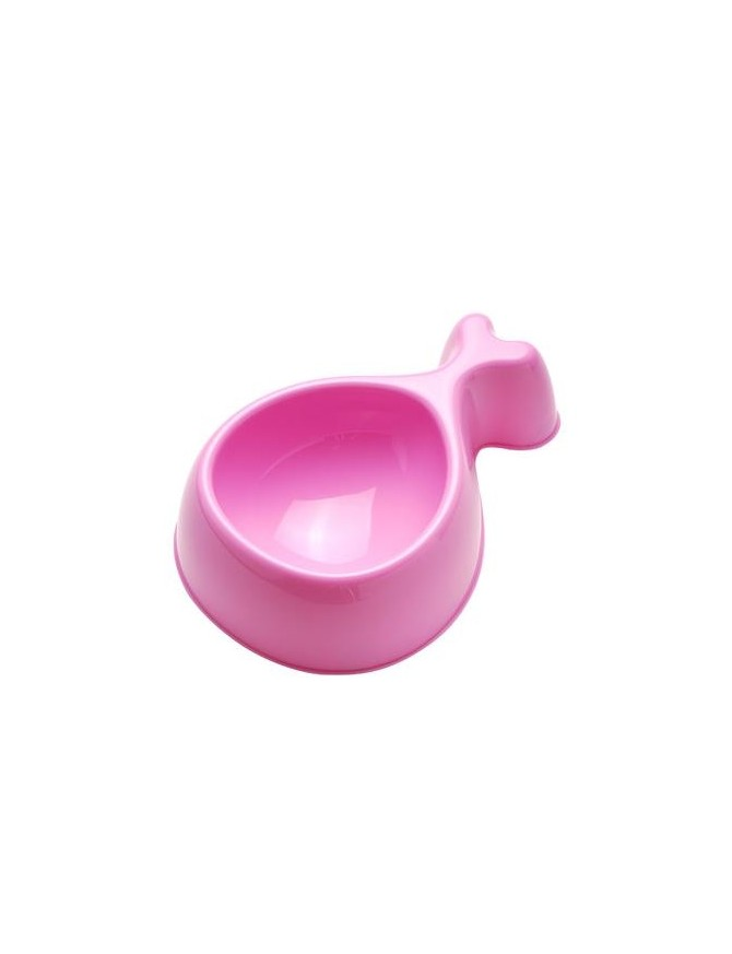 Small plastic dog bowl - Chicky babe