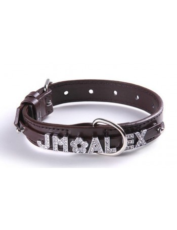 Dog collar - Luxury chocolate