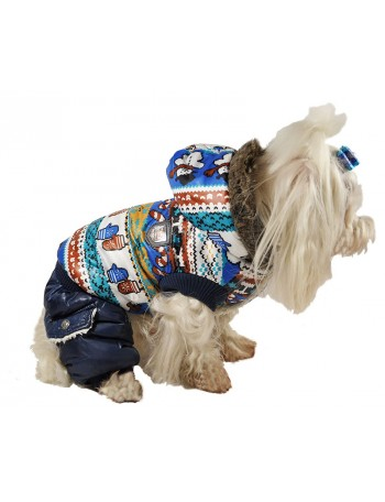 Dog winter coats on 4 legs - Snowman