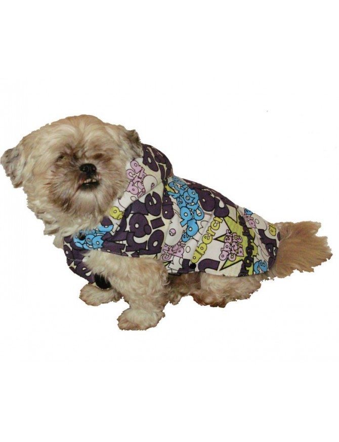 Dog winter coat - Brina Violet