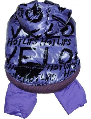 Pasji pajacek - Violet hot lips